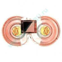 Кулер для видеокарты Thermaltake DuOrb CL-G0102 с тепловыми трубками (медный) - Черное