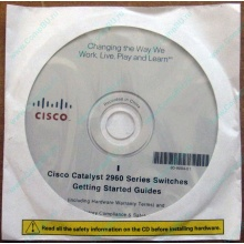 85-5777-01 Cisco Catalyst 2960 Series Switches Getting Started Guides CD (80-9004-01) - Черное