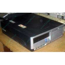 Компьютер HP DC7100 SFF (Intel Pentium-4 520 2.8GHz HT s.775 /1024Mb /80Gb /ATX 240W desktop) - Черное