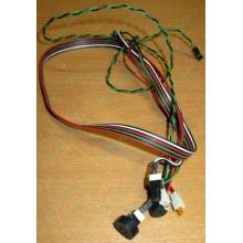 Светодиоды в Черном, кнопки и динамик (с кабелями и разъемами) для корпуса Chieftec (Черное)