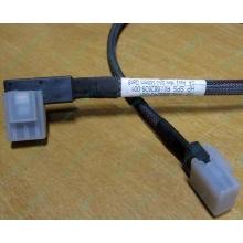 Угловой кабель Mini SAS to Mini SAS HP 668242-001 (Черное)