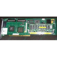 SCSI рейд-контроллер HP 171383-001 Smart Array 5300 128Mb cache PCI/PCI-X (SA-5300) - Черное