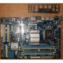 Материнская плата Gigabyte GA-EP45T-UD3LR rev 1.3 Б/У (Черное)