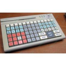 POS-клавиатура HENG YU S78A PS/2 белая (без кабеля!) - Черное
