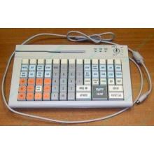POS-клавиатура HENG YU S78A PS/2 белая (Черное)