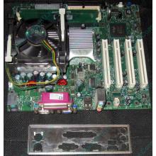Комплект: плата Intel D845GLAD с процессором Intel Pentium-4 1.8GHz s.478 и памятью 512Mb DDR1 Б/У (Черное)