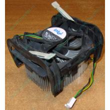 Кулер для процессоров socket 478 с большим сердечником из меди Б/У (Черное)