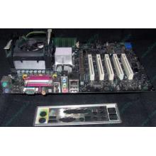 Материнская плата Intel D845PEBT2 (FireWire) с процессором Intel Pentium-4 2.4GHz s.478 и памятью 512Mb DDR1 Б/У (Черное)